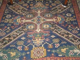 Inspiration Carpet with Tree of Life Motif