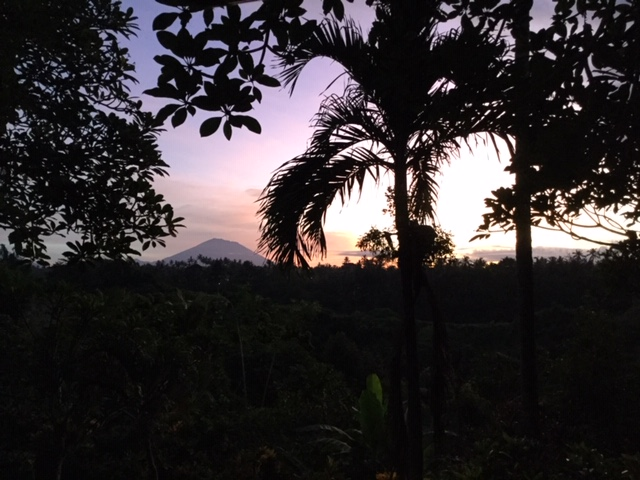 Ubud, Mt Kintamani, sunrise